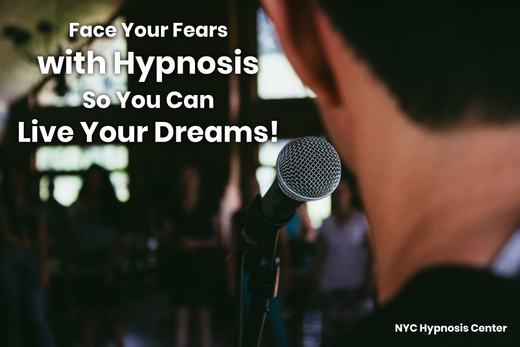 Hypnotherapy for Performance Anxiety NYC and Fear of Failure Hypnosis