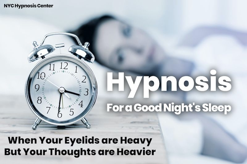 Hypnosis for a Good Night's Rest Hypnotherapy NYC